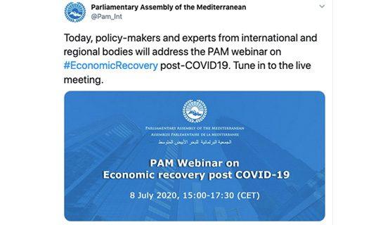 assemblea parlamentare del mediterraneo